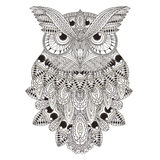 Sumptuous owl Royalty Free Stock Image
