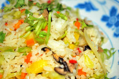 Sumptuous pineapple fried rice Royalty Free Stock Images