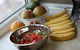 A Sumptuous Vegan Salad Feast Royalty Free Stock Image
