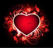 Sumário com coração Fotografia de Stock Royalty Free