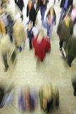 Sumário movente da multidão Imagens de Stock