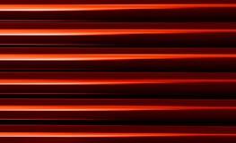 Sumário vermelho vibrante vívido horizontal da apresentação do negócio Imagens de Stock Royalty Free
