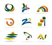 Sumários coloridos Imagem de Stock