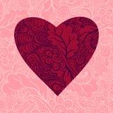 sumującego karcianego dzień szczęśliwy s teksta valentine Obrazy Stock