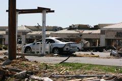sumujący samochodowy Atm tornado Zdjęcia Royalty Free