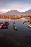 Sumurup. Rawa pening lake in central java indonesia Stock Image