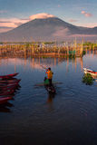 Sumurup. Rawa pening lake central java indonesia Stock Images
