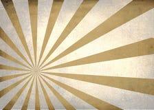 Sun a éclaté le rétro fond texturisé simple Images libres de droits