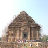 The Sun świątynia przy Konark w stanie Odisha Obraz Stock