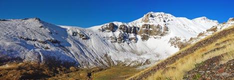 The Sun πέρα από το βουνό Aragats Αρμενία Στοκ φωτογραφίες με δικαίωμα ελεύθερης χρήσης