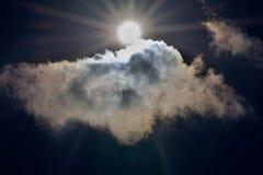 Sun и облака Стоковое Фото