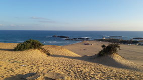 Sun и пляж Стоковое Изображение RF
