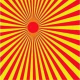 Sun светит Стоковые Фотографии RF