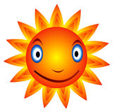 Sun 08. Cool sun  and This is a happy sun Stock Images