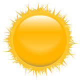 The sun. A vector illustration of the sun Stock Image