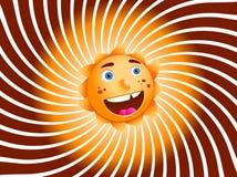 Sun ilustração do vetor