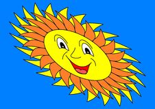 Sun. Beach travel tropics star flower Royalty Free Stock Photo