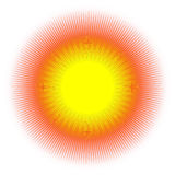 Sun Images libres de droits