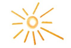 Sun Fotografie Stock Libere da Diritti