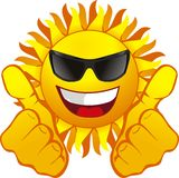 sun royaltyfri illustrationer