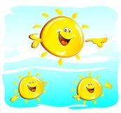 Sun Lizenzfreie Abbildung