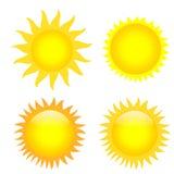 Sun Photos libres de droits