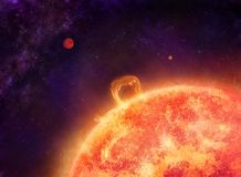 Sun Foto de archivo libre de regalías