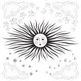 Sun illustrazione vettoriale