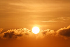 The sun. Royalty Free Stock Photography