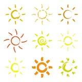 Sun Fotografie Stock