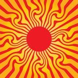 sun Royaltyfri Fotografi