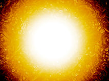 Sun. Bright shining sun or fireball Royalty Free Stock Images