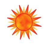 The sun Royalty Free Stock Photo