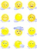sun Royaltyfri Foto