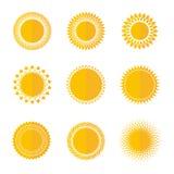 Sun Image stock