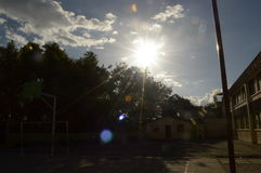 Sun Image libre de droits