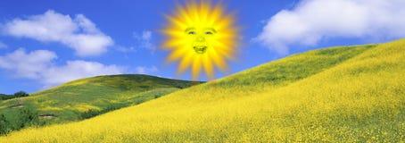 A sun royalty free illustration