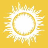 sun stock illustrationer