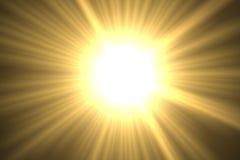 sun Arkivfoto
