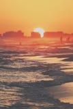 Sun abajo Fotos de archivo libres de regalías