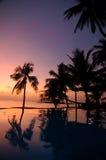 Sun abajo Imagen de archivo libre de regalías