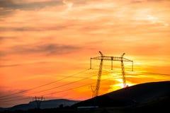 Sun abajo Fotografía de archivo libre de regalías