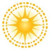 Sun-Abbildung stock abbildung