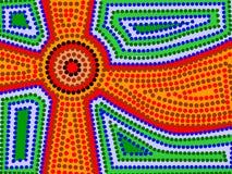 Sun aborigeno Fotografie Stock Libere da Diritti