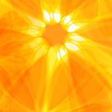 Sun abstract background Royalty Free Stock Photos