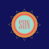 Sun. Abstract summer banner. Vector eps 10. Abstract summer banner. Vector eps 10 Stock Photos