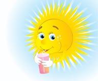 Sun altéré Photographie stock