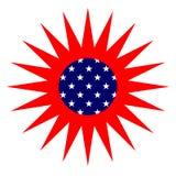 Sun américain Photographie stock libre de droits