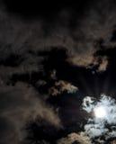 Sun après éclipse lunaire Image libre de droits