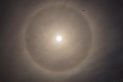 Sun, arco-íris, nuvens Fotografia de Stock Royalty Free